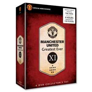 Manchester United 4 Disc DVD Box Set