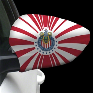 Chivas Crest Striped Mirror Cover