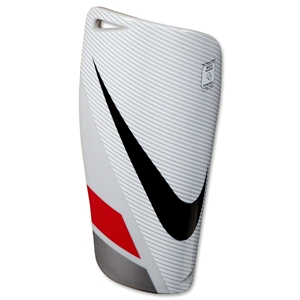 Nike Mercurial Lite Shinguard (White/Red/Black)