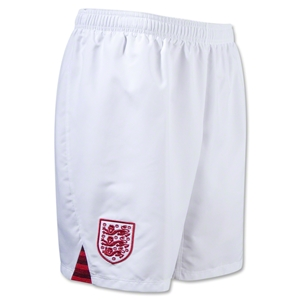 England 12/13 Home Soccer Shorts