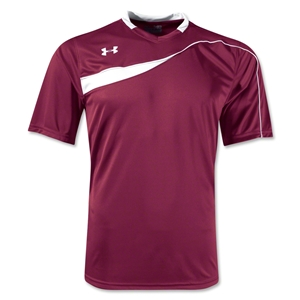 Under Armour Chaos Soccer Jersey (Maroon/Wht)