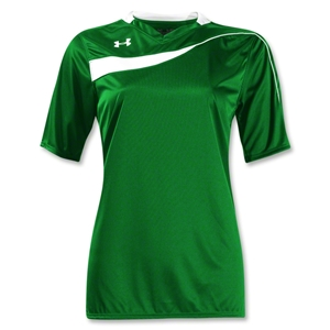 Under Armour Women's Chaos Jersey (Green/Wht)