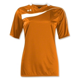 Under Armour Women's Chaos Jersey (Org/Wht)
