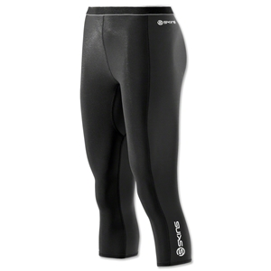 Skins S400 Thermal 3/4 Tight Women's Pants (Blk/Wht)