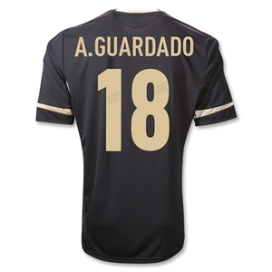 Mexico 11/12 A. GUARDADO Away Soccer Jersey