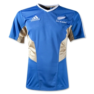 All Blacks 12/13 Training SS Rugby Jersey
