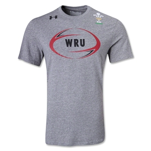 Wales Rugby Technical T-Shirt (Gray)