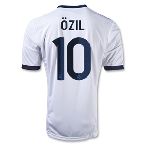Real Madrid 12/13 OZIL Home Soccer Jersey