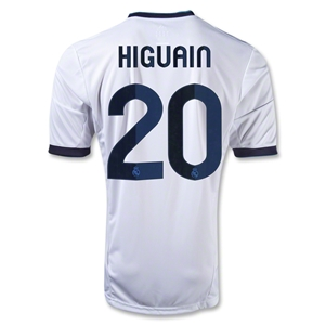 Real Madrid 12/13 HIGUAIN Home Soccer Jersey