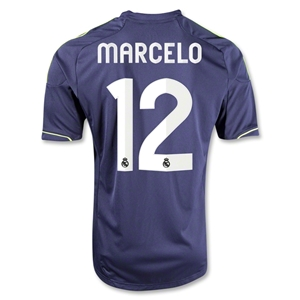 Real Madrid 12/13 MARCELO Away Soccer Jersey