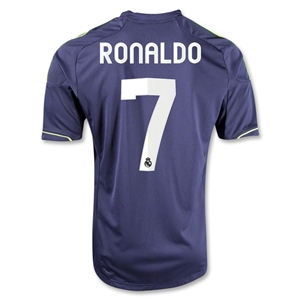 Real Madrid 12/13 RONALDO Away Soccer Jersey