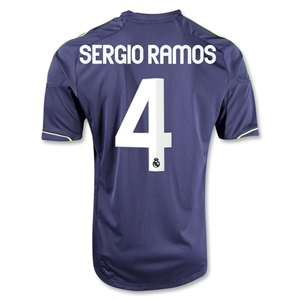 Real Madrid 12/13 SERGIO RAMOS Away Soccer Jersey