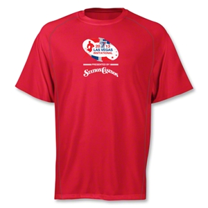 adidas Las Vegas Invitational Climalite T-Shirt (Red)