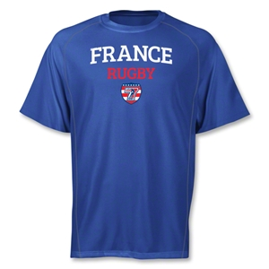 adidas USA Sevens France Climalite T-Shirt (Royal)