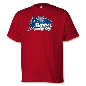adidas USA Sevens Game On T-Shirt (Red)
