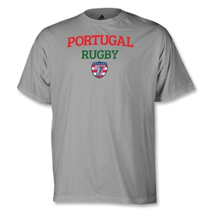 adidas USA Sevens Portugal Rugby T-Shirt (Gray)