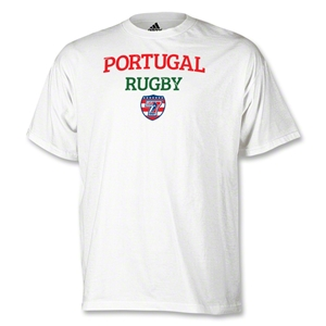 adidas USA Sevens Portugal Rugby T-Shirt (White)
