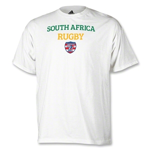 adidas USA Sevens South Africa Rugby T-Shirt (White)