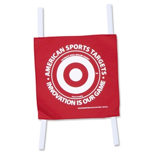 American Sports Targets Soccer Shooting Target (Red)