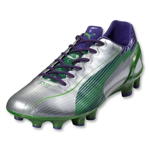 PUMA evoSpeed 1 FG (Puma Silver/Team Green)
