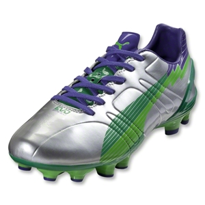 PUMA evoSpeed 3 FG (Puma Silver/Team Green)