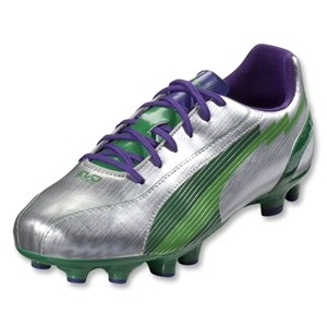 PUMA evoSpeed 5 FG (Puma Silver/Team Green)