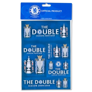 Chelsea 09/10 Double Winners Sticker Pack