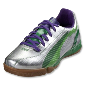 PUMA evoSpeed 5 IT Junior (Puma Silver/Team Green)