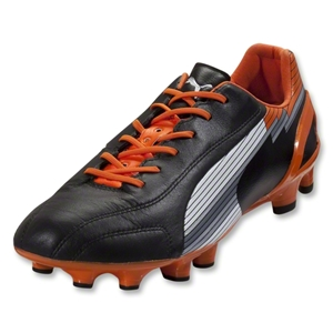 PUMA evoSpeed 1 K FG (Black/White/Team Orange)