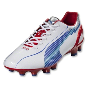 PUMA evoSpeed 1 FG (White/Ribbon Red)