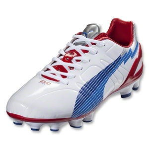 PUMA evoSpeed 3 FG (White/Limoges/Ribbon Red)