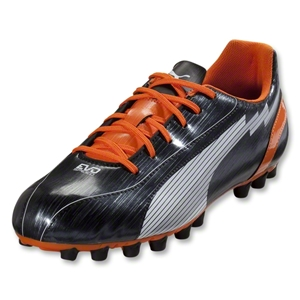 PUMA evoSpeed 5 AG (Black/White/Team Orange)