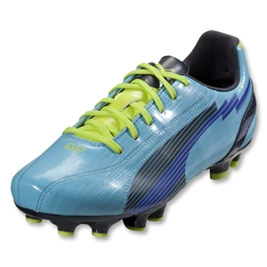 PUMA Women's evoSpeed 5 FG (Blue Mist/New Navy/Lime Punch)