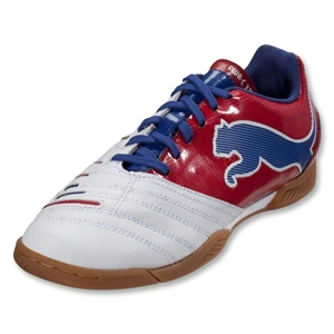 PUMA PowerCat 3.12 IT Junior (White/Ribbon Red/Limoges)