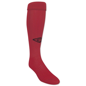 Umbro Team Socks (Red/Blk)