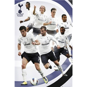Tottenham Players Poster 11/12