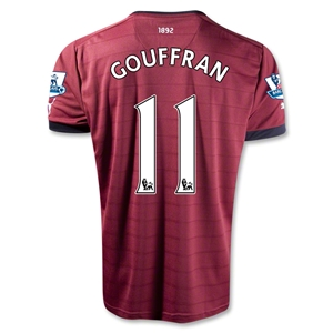 Newcastle United 12/13 GOUFFRAN Away Soccer Jersey