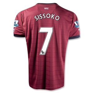 Newcastle United 12/13 SISSOKO Away Soccer Jersey