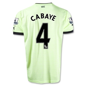 Newcastle United 12/13 CABAYE Third Soccer Jersey