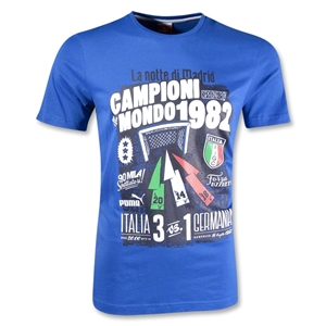 FIGC Italy Graphic T-Shirt