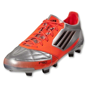 adidas F50 adizero TRX FG Leather (Metsilver/Infrared)