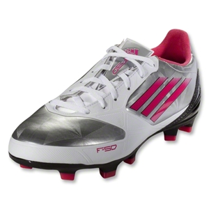 adidas Women's F30 TRX FG (Metallic Silver/Bright Pink/Black)