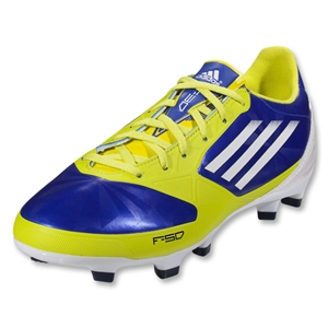 adidas Women's F30 TRX FG (Lab Blue/Running White/Lab Lime)