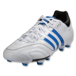 adidas 11Core TRX FG-miCoach compatible (Running White/Bright Blue/Black)