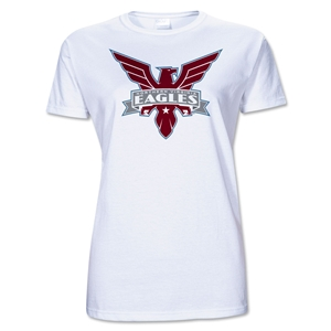 Northern VA Eagles Junior Women's T-Shirt (White)