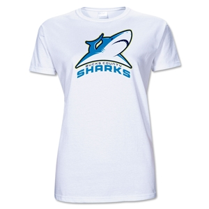 Bucks County Sharks AMNRL Junior Women's T-Shirt
