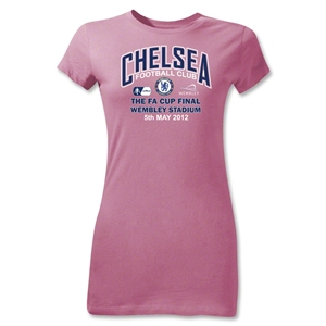 Chelsea FA Cup Final Junior Women's T-Shirt (Pink)