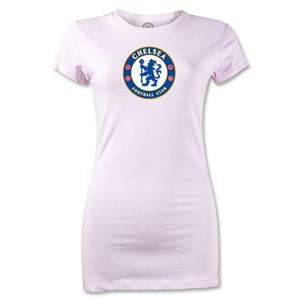 Chelsea Crest Junior Women's T-Shirt (Pink)