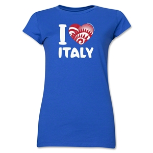 I Heart Italy 2014 FIFA World Cup Brazil(TM) Jr. Women's T-Shirt (Royal)