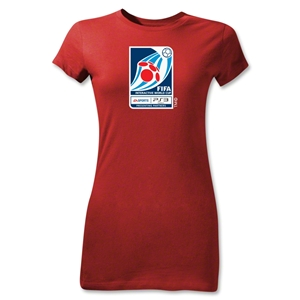 FIFA Interactive World Cup Junior Women's Emblem T-Shirt (Red)